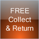 Free collect and return service in Southampton area